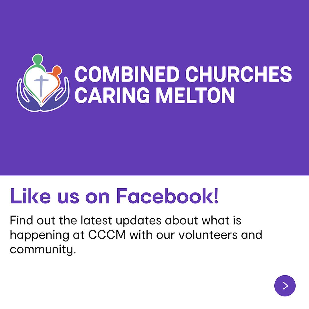 Like CCCM on Facebook